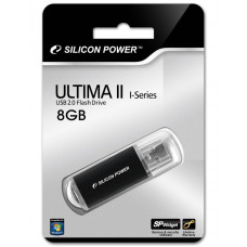 8GB USB FlashDrive ULTIMA II-I SiliconPower Black