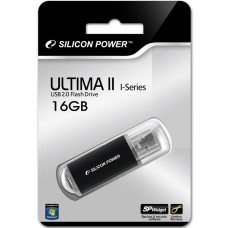 16GB USB FlashDrive ULTIMA II-I SiliconPower Black
