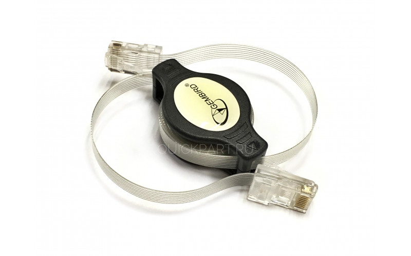Cable NET/LAN Patch-cord UTP CCB-PP12-88-5 retract. 5E 1.5m