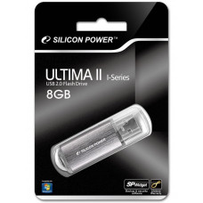 8GB USB FlashDrive ULTIMA II-I SiliconPower Silver