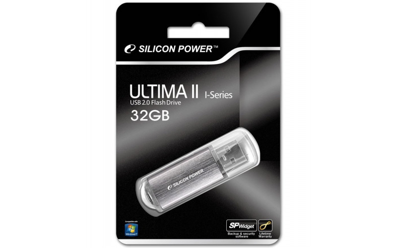 32GB USB FlashDrive ULTIMA II-I SiliconPower Silve