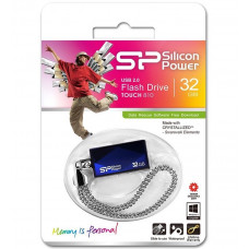 32GB USB FlashDrive TOUCH 810 SiliconPower Blue