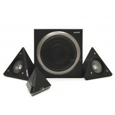 Колонки KWorld Dark Pyramid D15U 2.1 15W USB