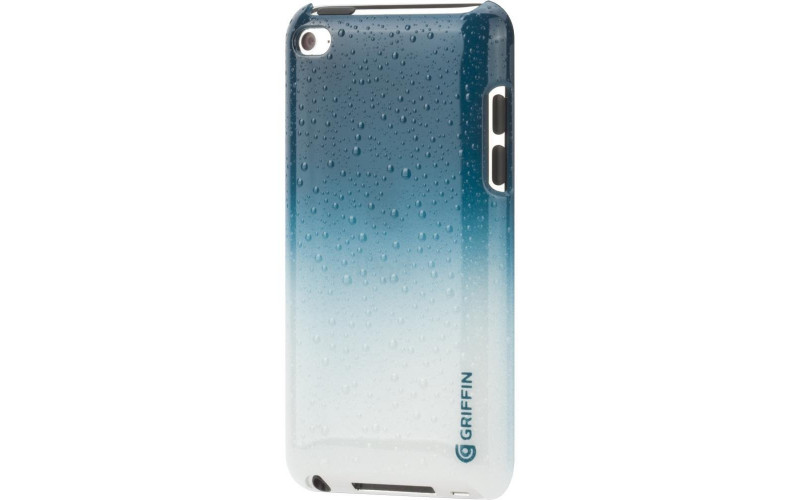 Чехол для Apple iPod Touch 4 Griffin Outfit Mist <GB02008> teal/white