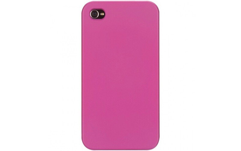 Чехол для Apple iPhone 4 Griffin Outfit Ice <GB01740> Pink