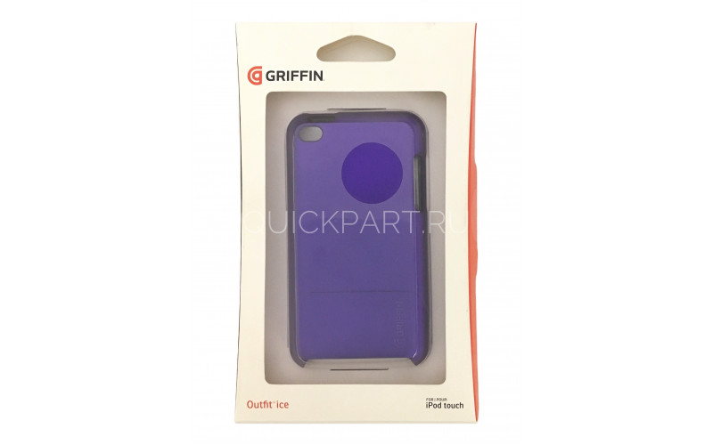 Чехол для Apple iPod Touch 4 Griffin Outfit Ice <GB02651> Purple