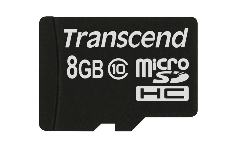 Transcend Micro SDHC Card 8GB Class 10 w/o adapter