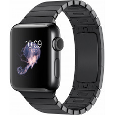 Часы Apple Watch 38mm with Link Bracelet, Stainless Space Black