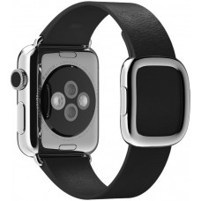 Часы Apple Watch 38mm Stainless Steel Case with Black Modern Buckle - M
