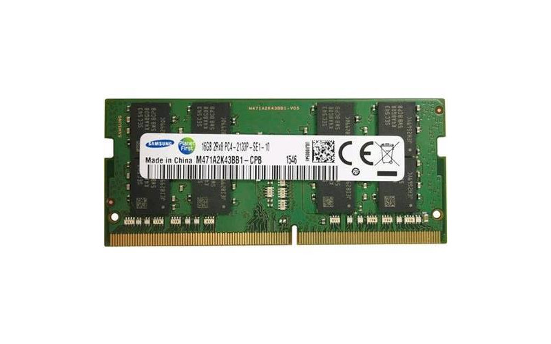 16Gb SO-DIMM DDR4 SEC (PC4-17000, 2133, CL15) 1.2V original