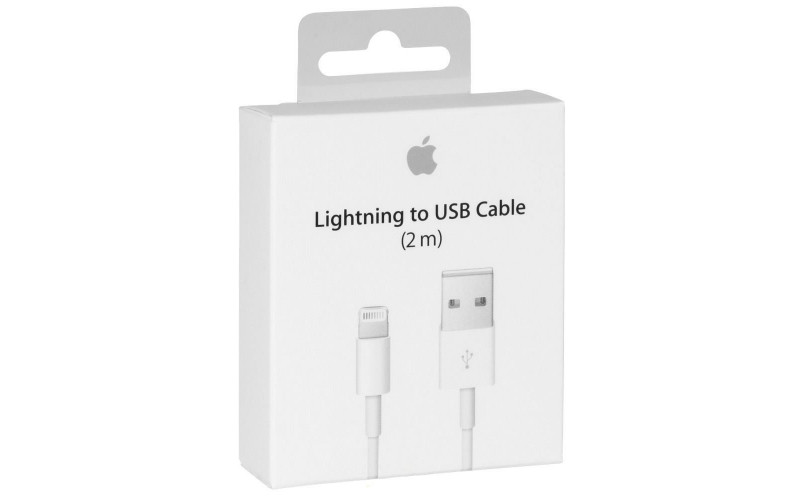 Cable Apple Lightning original 8pin 2M for iPhone 5,5S, 6,6S / iPad
