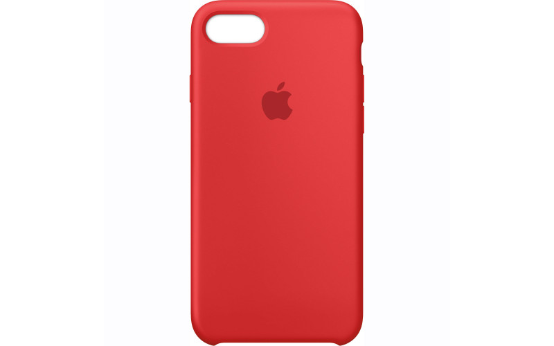 Apple iPhone 7 Silicone Case Red