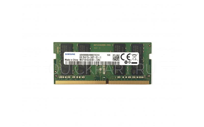 8Gb SO-DIMM DDR4 SEC (PC4-19200, 2400, CL17)  1.2V original