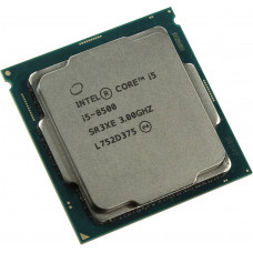 CPU Intel Core i5-8500 (9M Cache, 3.00 GHz) S1151v2 Tray* (для сборки)